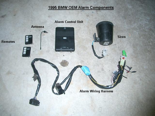 bmw oem alarm installation (e36/s50)  bmw diy