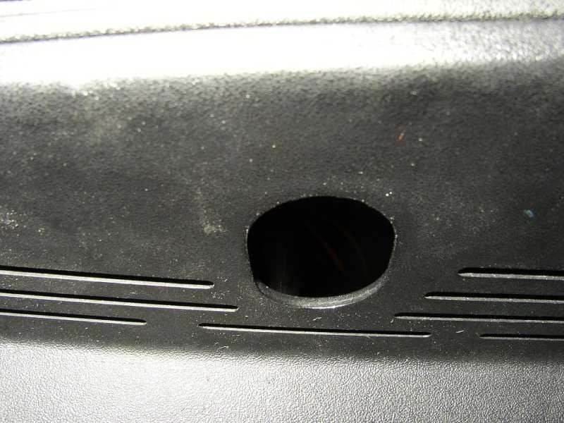 BMW E36 Start Button